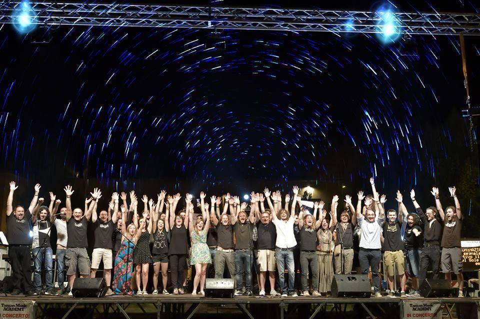Allievi Tanzan Music Academy al concerto di fine anno
