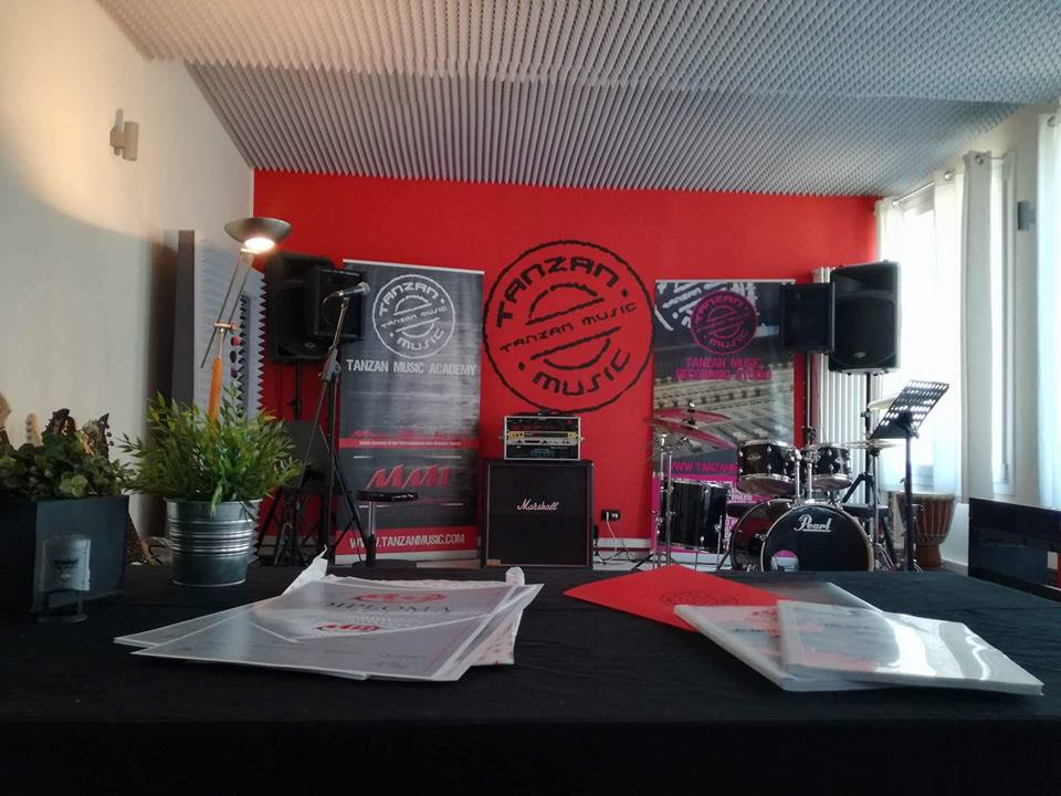 Sessione d'esame Tanzan Music Academy