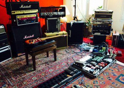 Pedaliere e amplificatori chitarra elettrica tanzan music Academy