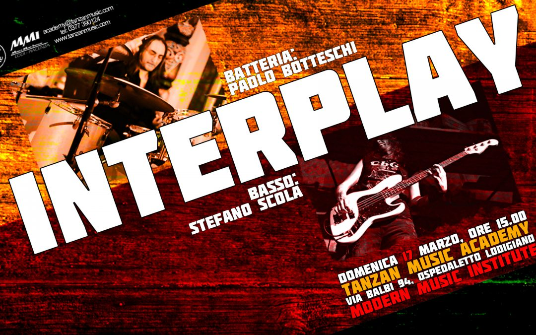 Interplay – Drum & Bass Masterclass