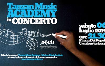 Tanzan Music Academy in Concerto, 6 Luglio 2019