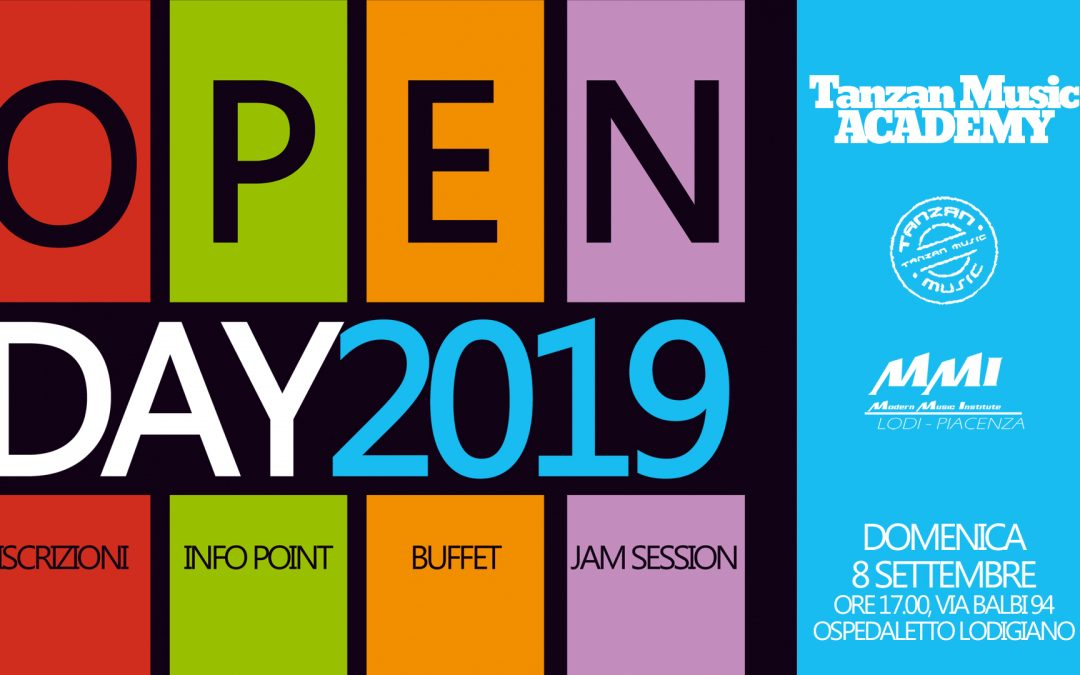 Evento Open Day 2019