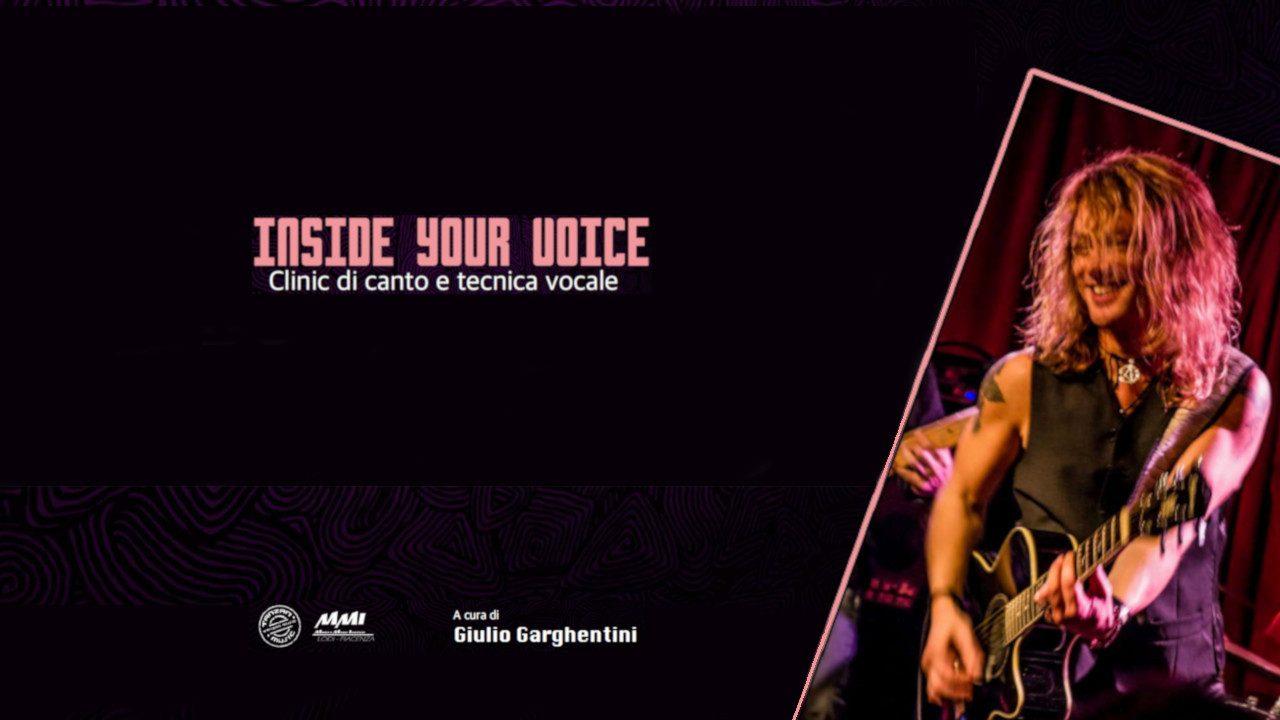 Inside your voice - Clinic di canto e tecnica vocale presso Tanzan Music Academy