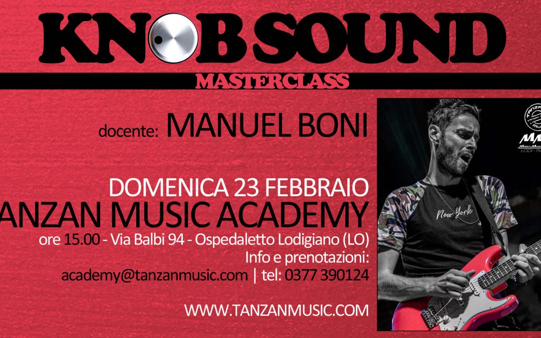 Masterclass di Chitarra con Manuel Boni