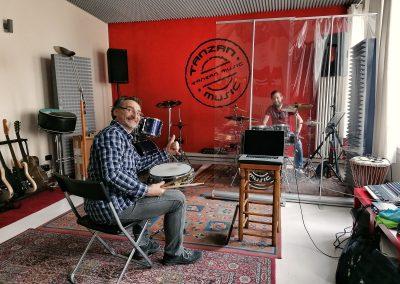 Lezione di batteria Tanzan Music Academy Ospedaletto Lodigiano