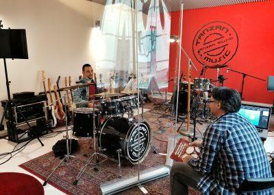 Lezioni di batteria Tanzan Music